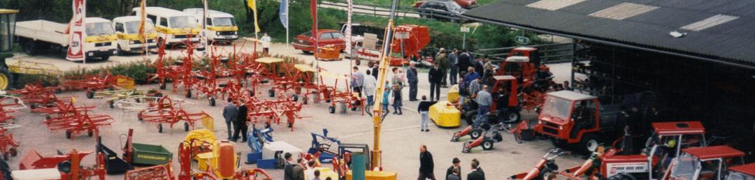 1987: Erste große Landmaschinenausstellung
