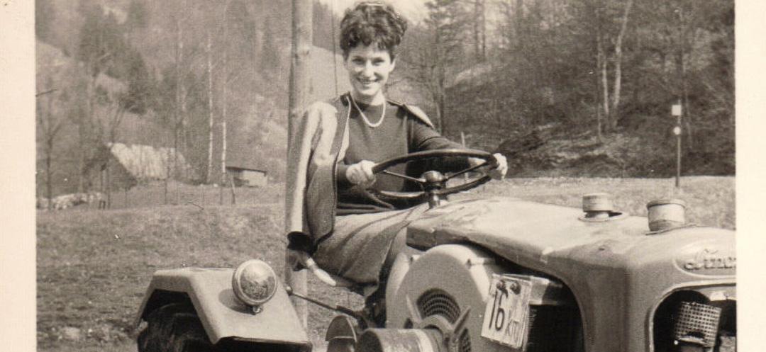 1952: Lindner, Massey Fergusson und gelehrige Fahrschüler