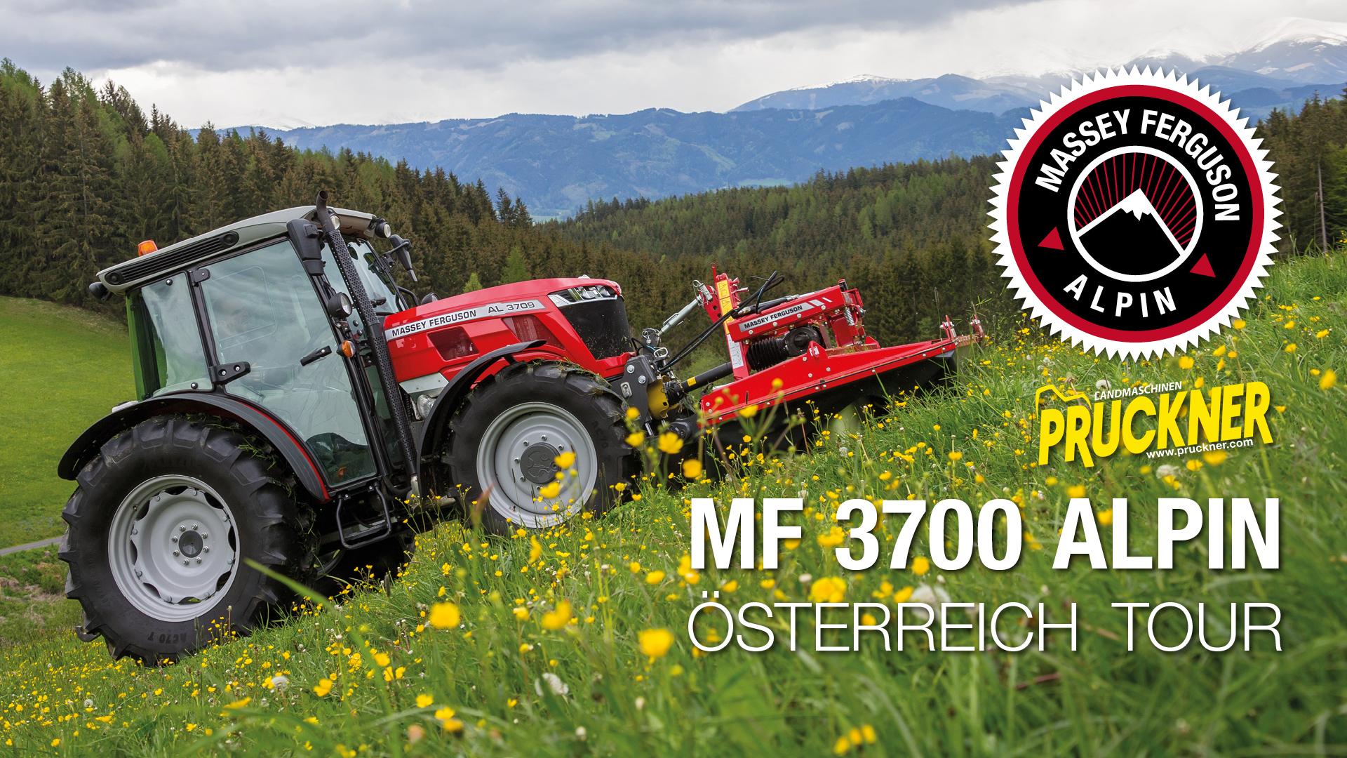 MF 3700 ALPIN Österreich Tour