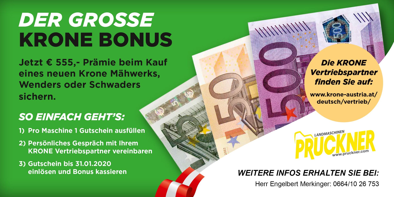 Der Grosse KRONE Bonus