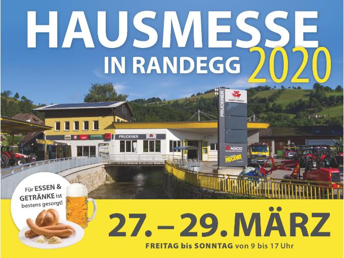 Hausmesse in Randegg